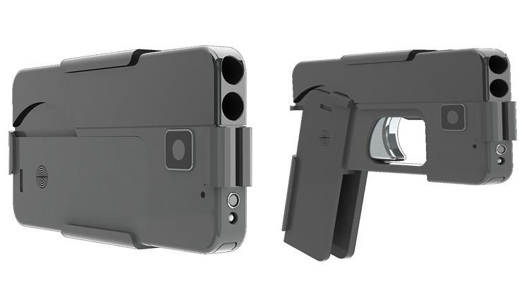 Ya a la venta los 'celulares-pistola' en EEUU