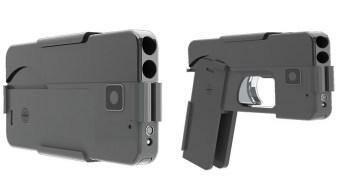 Compañía entrega primeros 'teléfonos celulares pistola'