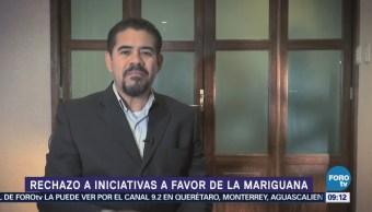 Polémica por iniciativas para despenalizar la marihuana