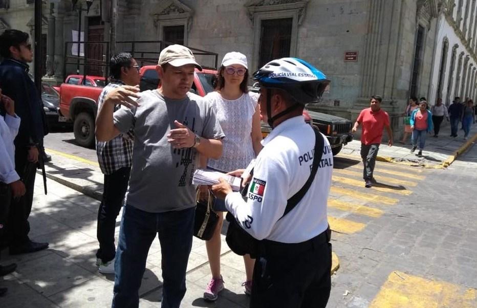 Oaxaca implementa policías en bicicleta para la Guelaguetza