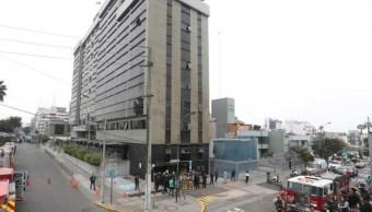 Policía Perú descarta ataque terrorista clínica Perú