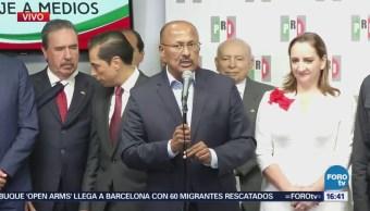 PRI Actuará Oposición Constructiva René Juárez Cisneros