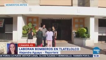 Movilización Bomberos Tlatelolco Corto Circuito
