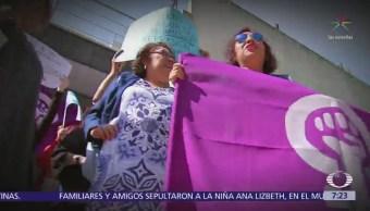 Protestan en la embajada de Nicaragua en México