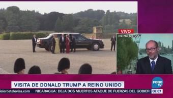 Protestas Marcan Visita Donald Trump Reino Unido