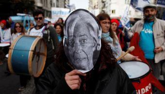 Protestas y corte de calles en Buenos Aires por G20