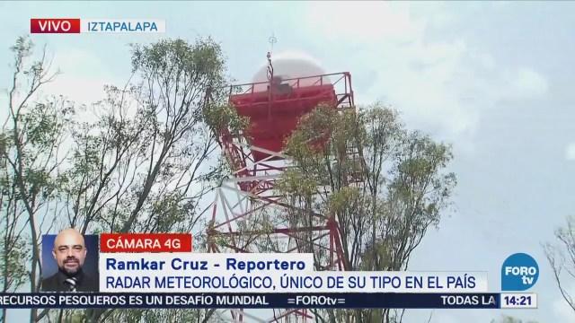 Radar Lluvias Mantiene Monitoreo Atmosférico Cdmx
