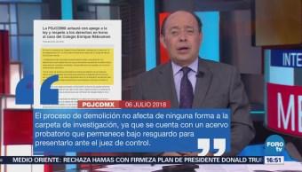 Procuraduría Capitalina Actuará Apego Ley Caso Rébsamen
