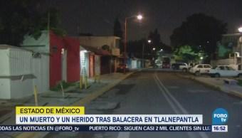 Movilización Balacera Tlalnepantla Estado de México