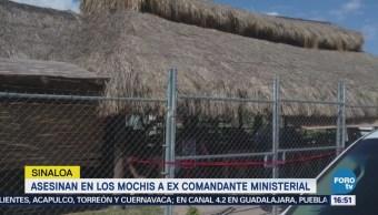 Asesinan Excomandante Policía Ministerial Los Mochis