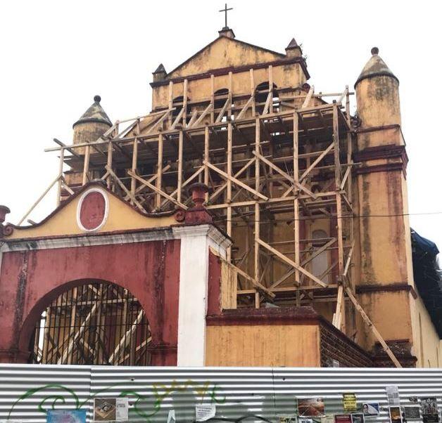 reconstruccion monumentos historicos danados sismo chiapas 30 avance