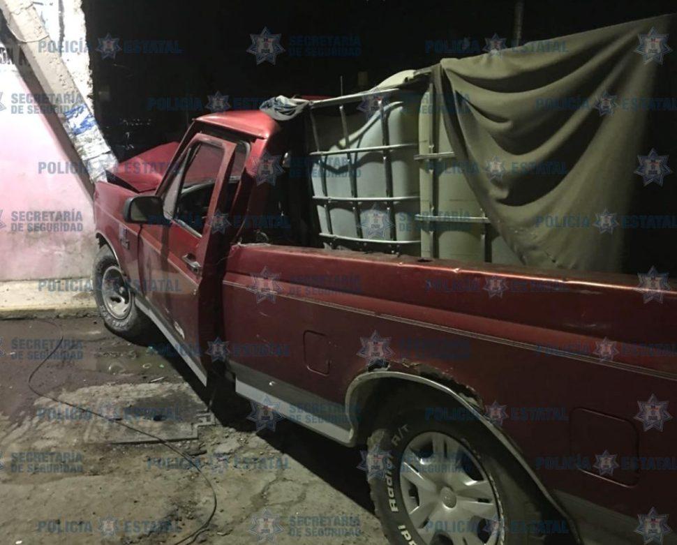 Recuperan en el poblado de Cuautlancingo mil 600 litros de hidrocarburo