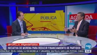 Reducción Financiamiento Partidos Políticos Análisis Cardona