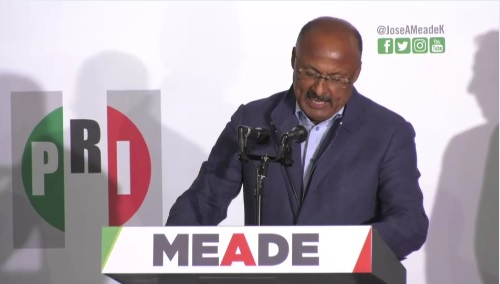 PRI reconoce derrota de Meade, así como en ocho estados