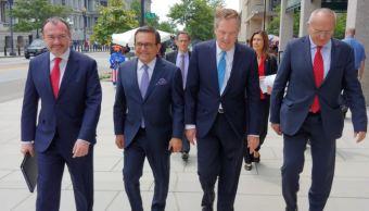 Concluye gira de trabajo en Washington delegación mexicana