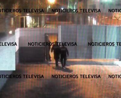Videos revelan más detalles sobre fuga de dos reos en Sinaloa