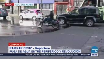 Reportan buen avance vehicular sobre avenida Miramontes, CDMX
