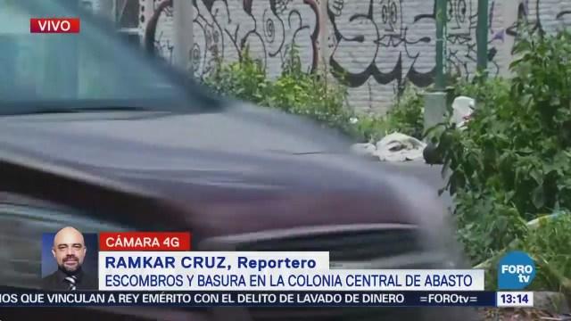 Reportan Cúmulo Basura Calle Colonia Central Abasto
