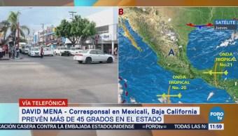 Reportan más de seis personas muertas por golpe de calor en BC