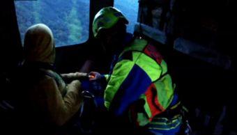 rescata proteccion civil jalisco extraviada parque