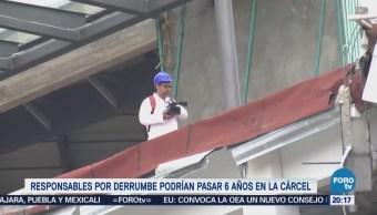 Responsables derrumbe Artz Pedregal podrían 6 años cárcel
