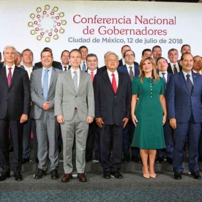 Conago cierra filas con AMLO; trabajarán por el bien de México