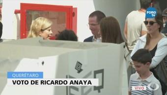 Ricardo Anaya Hace Fila Más Una Hora Para Votar