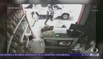 Roban y asesinan a aguacateros en cremería de Uruapan