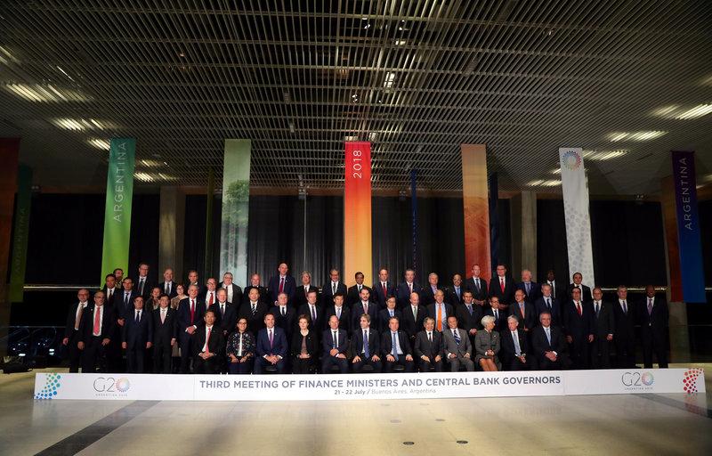 g20 dialogo comercial declaracion lideres financieros