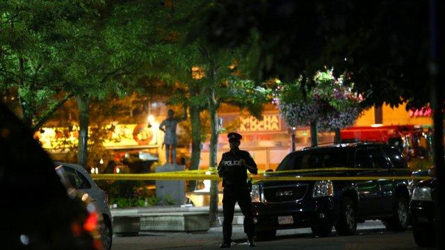 tiroteo toronto deja muerto y trece heridos