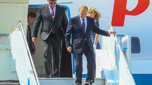 vladimir putin llega helsinki cumbre donald trump