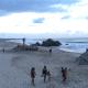 turistas playas puerto escondido costa oaxaca