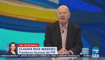 Ruiz Massieu: Derrota del PRI por falta de firmeza contra casos de corrupción