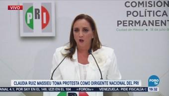 Ruiz Massieu Propone Levantar Renovar Fortalecer PRI