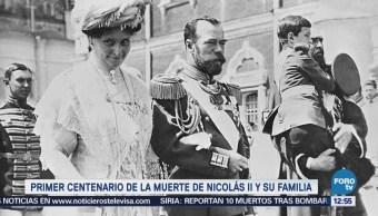 Rusia conmemora 100 años del asesinato del zar Nicolás II