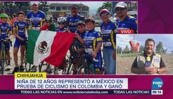 Mexicana 12 Años Gana Prueba Ciclismo Colombia