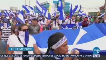 Cumplen 100 Días Violentas Protestas Nicaragua Daniel Ortega