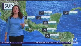 Se mantiene pronóstico de lluvias en toda la República