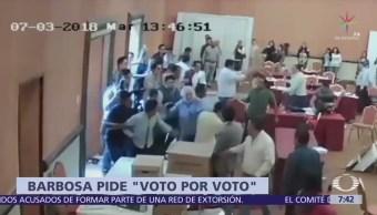 Se torna violento el proceso electoral en Puebla