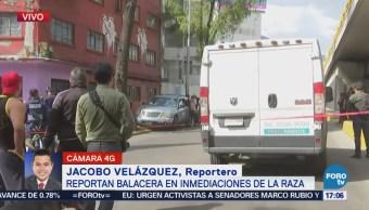 Servicios Emergencia Agilizan Tránsito Balacera La Raza