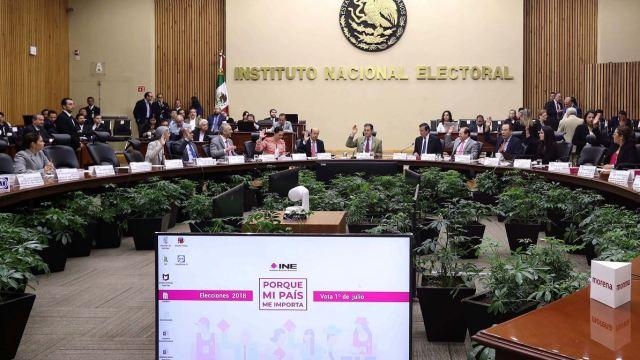 INE designa 2 interventores para liquidación de PES y Panal