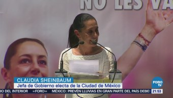 Sheinbaum Plan Gobierno Busca Combatir Inseguridad