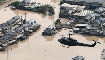 Suman 199 muertos lluvias y deslizamientos Japón
