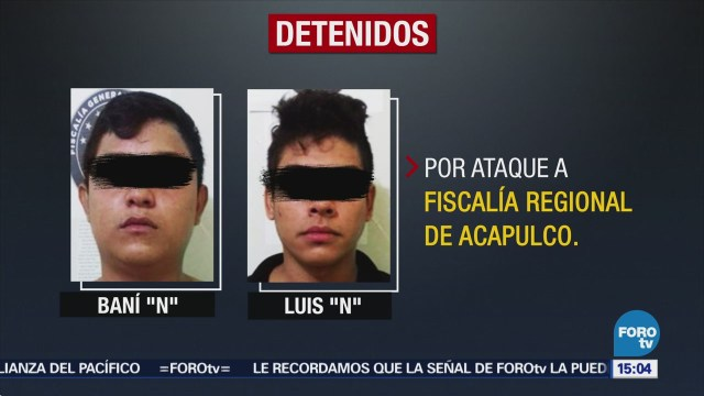 Suman Tres Detenidos Ataque Fiscalía Acapulco