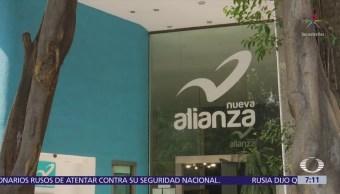 Suspenden pagos a proveedores de Nueva Alianza y Encuentro Social
