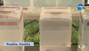 Transcurre Calma Elecciones Puebla