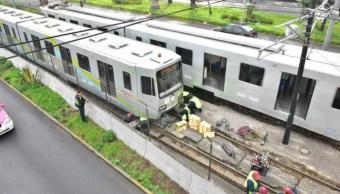 Foto Cierre Tren Ligero CDMX 28 Mayo 2019