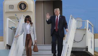 Trump llega a Helsinki para su cumbre con Putin
