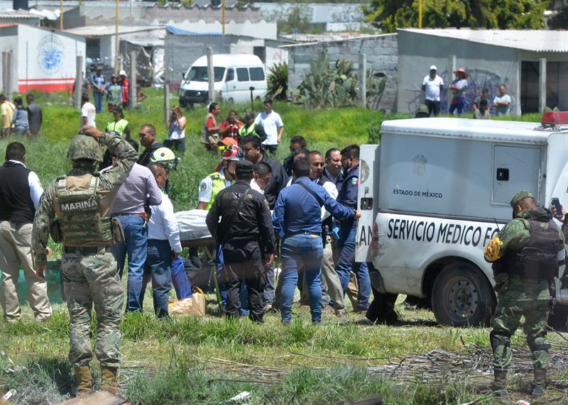 Explosión pirotecnia Tultepec, Edomex, deja muertos