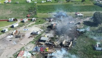 Polvorines que explotaron en Tultepec tenían permisos